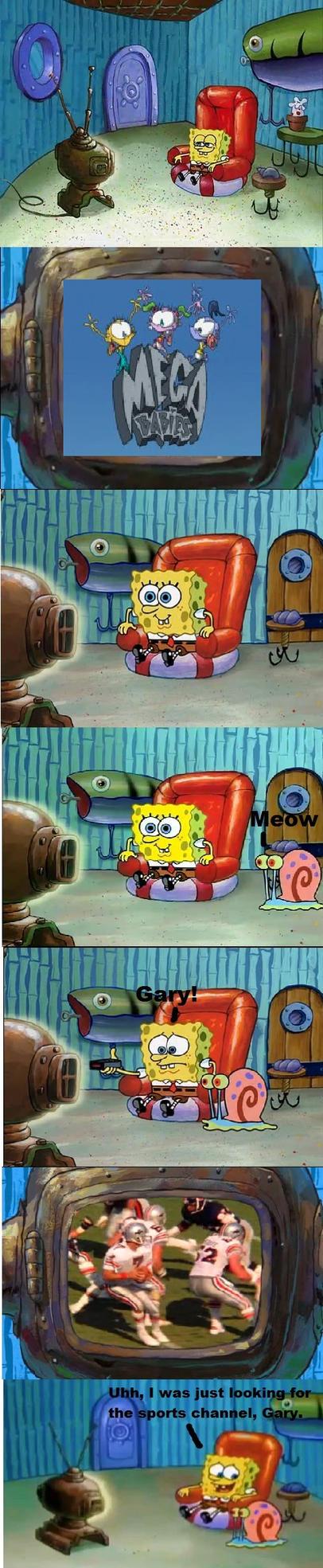 Spongebob Loves Mega Babies by Sovietlollipop