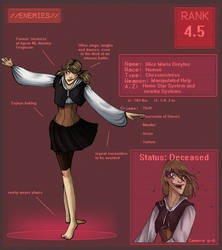 ENEMY- Alice Dreyfus by LiWarz