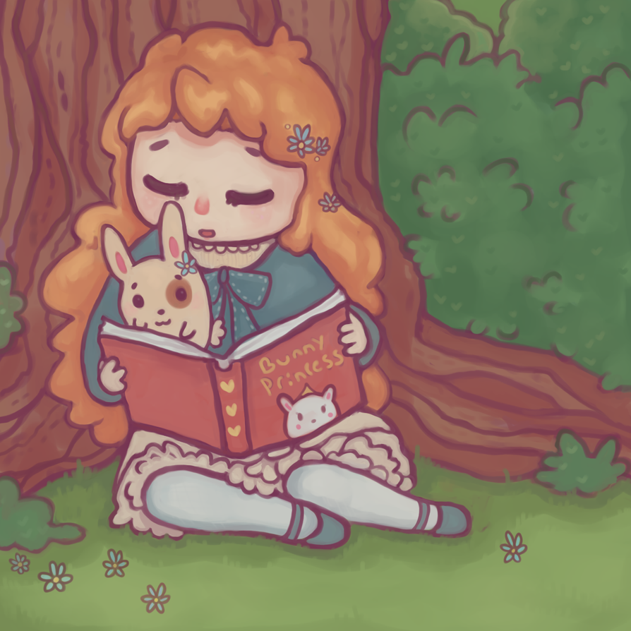 storytime by LittleLonelyFawn