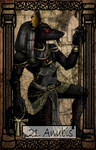 Mythology Tarot Anubis