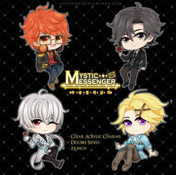 {FOR SALE} Mystic Messenger Charms