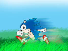 Sonic The Hedgehog by C5000-MakesStuff