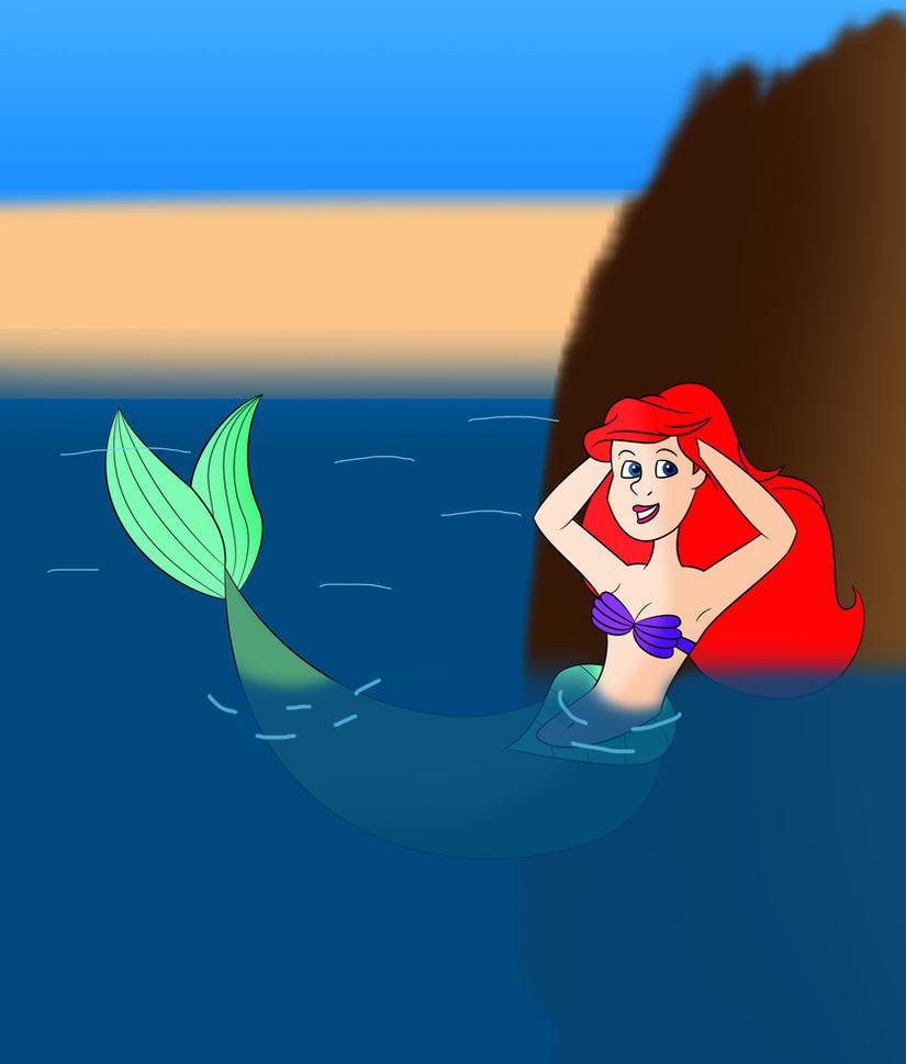 Ariel - The Little Mermaid by C5000-MakesStuff