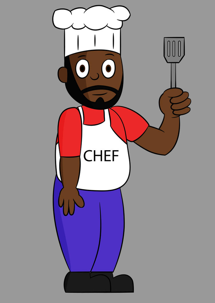 Chef from South Park by C5000-MakesStuff