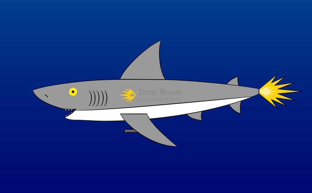 AstroShark - The mechanic shark by C5000-MakesStuff