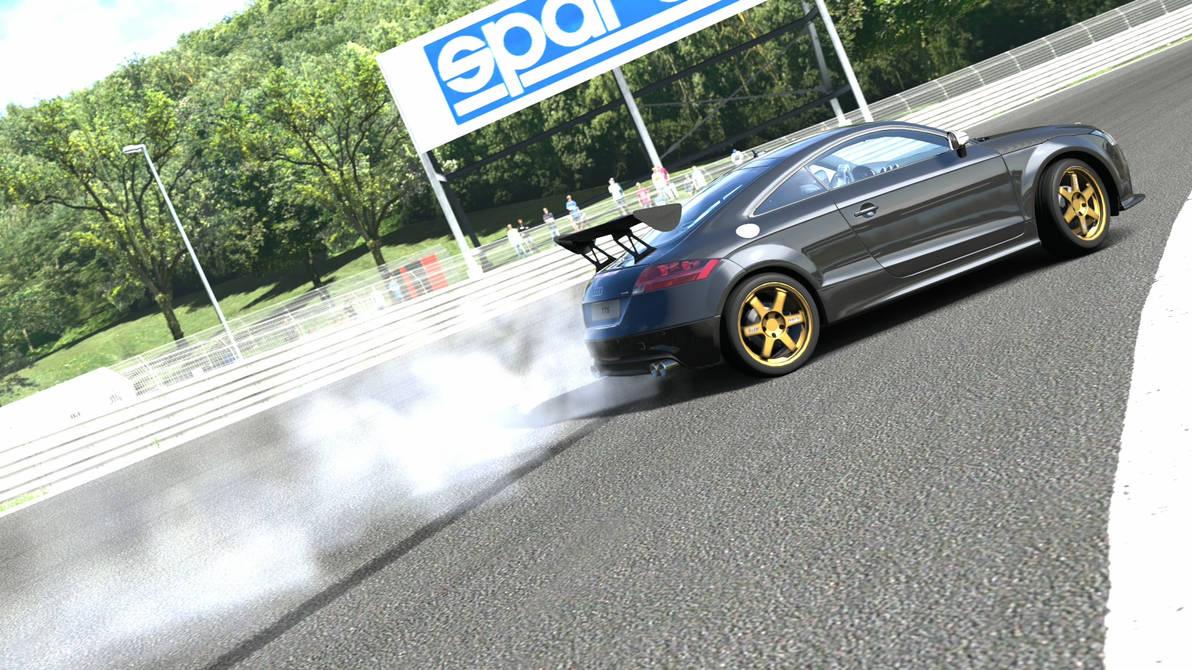 Audi Tt Drift Mode By Fedehorn On Deviantart