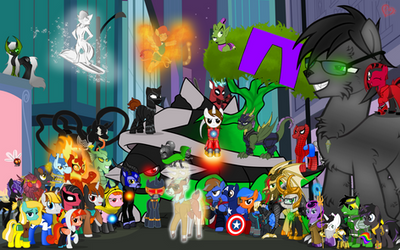 Stan Lee Tribute by MLP-TrailGrazer