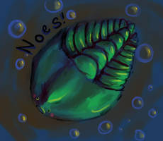 Concerned Trilobite by SineSquared
