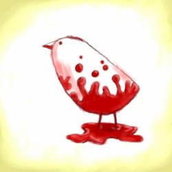 Evil Bird. by SineSquared