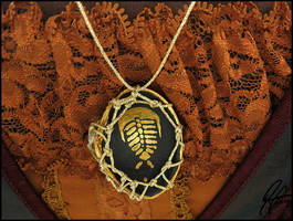 Trilobite Shell Necklace