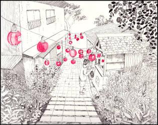 Jizo Obon by SineSquared