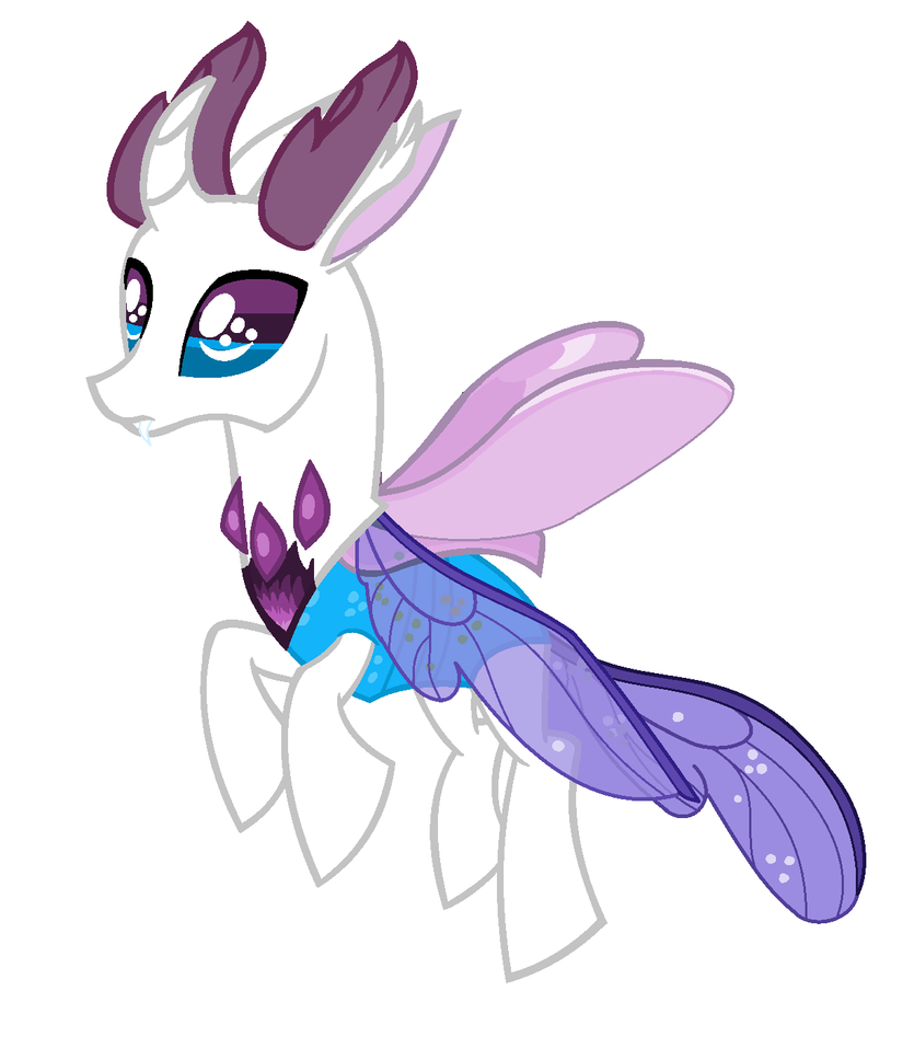Rarity Themed Changeling Adopt (Closed) by Satanic--Space--Goat