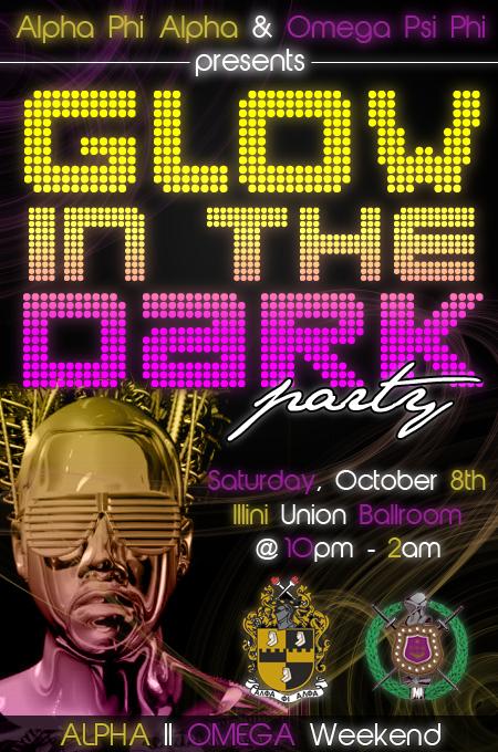 Glow In The Dark Party Flyer by autumnsayshello on DeviantArt