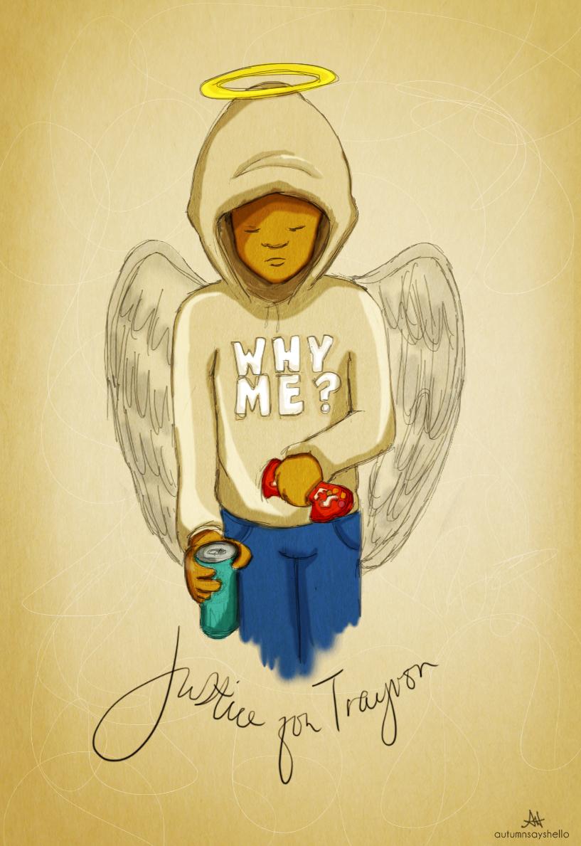 Justice for Trayvon Martin by autumnsayshello