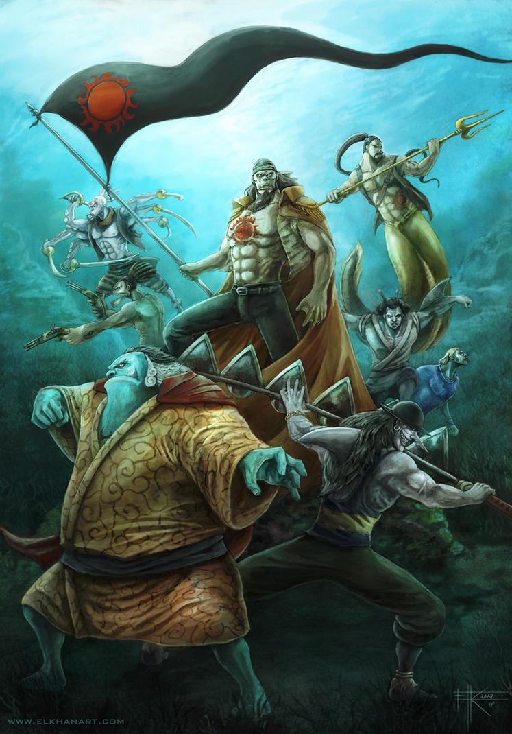 Sun Pirates by InmortalKhan