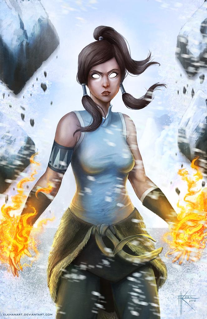 Avatar Korra by ElkhanArt