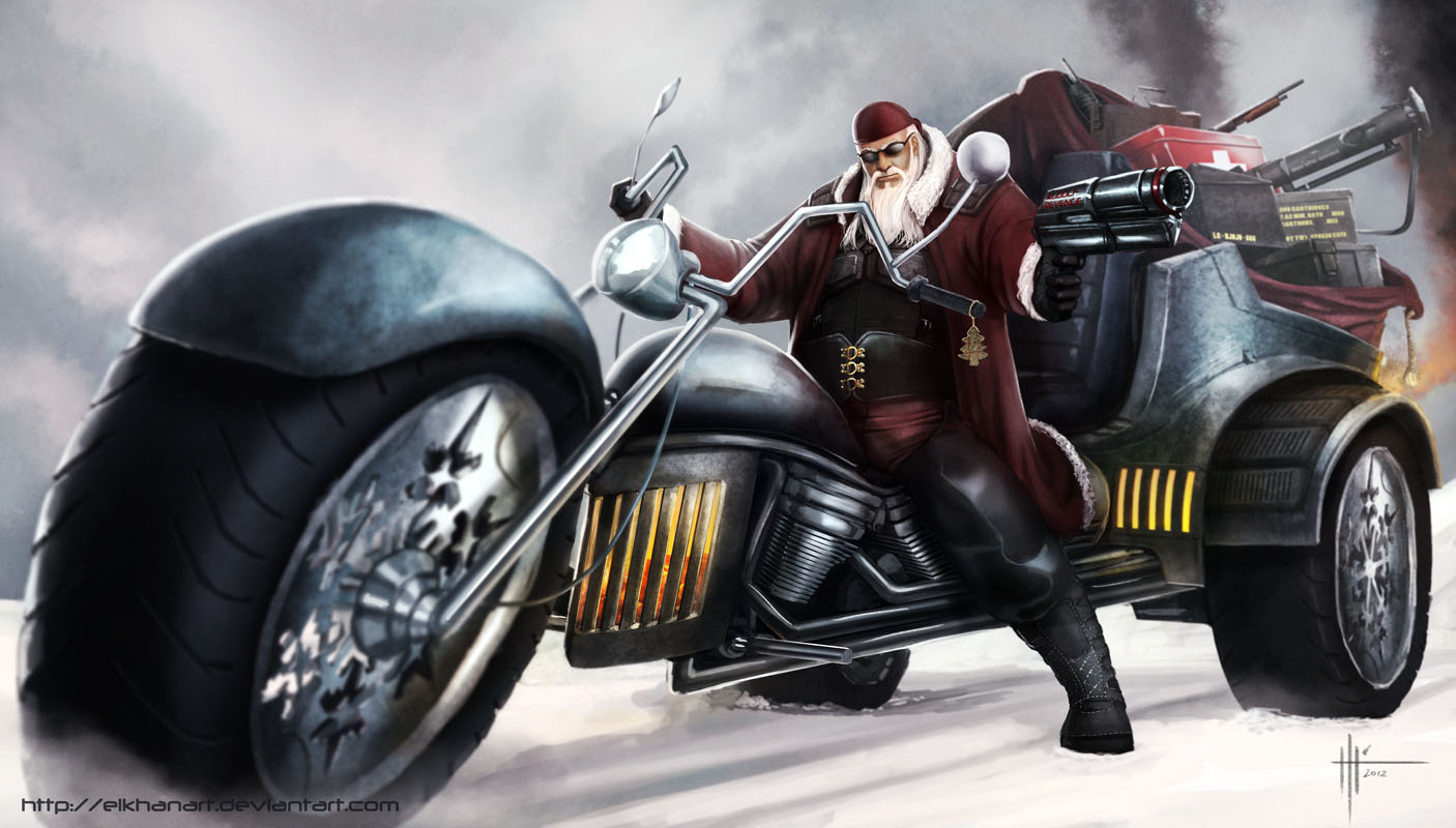 POST APOCALYPTIC SANTA by Kannart