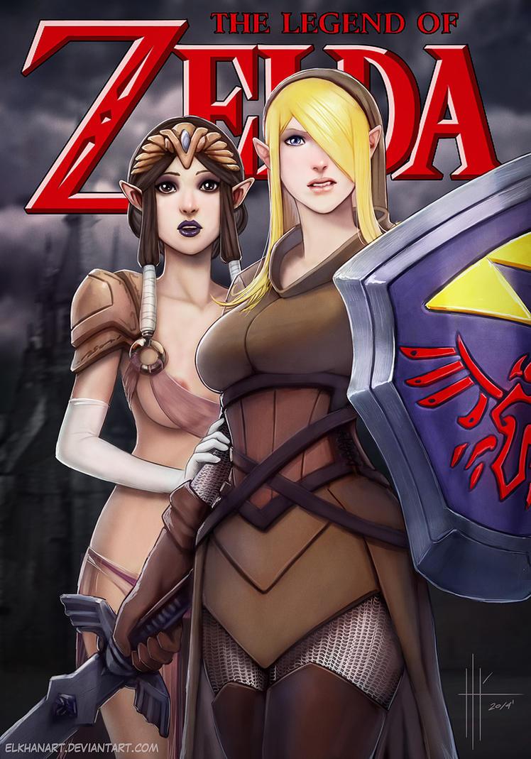 Legend of Zelda Fanart by ElkhanArt