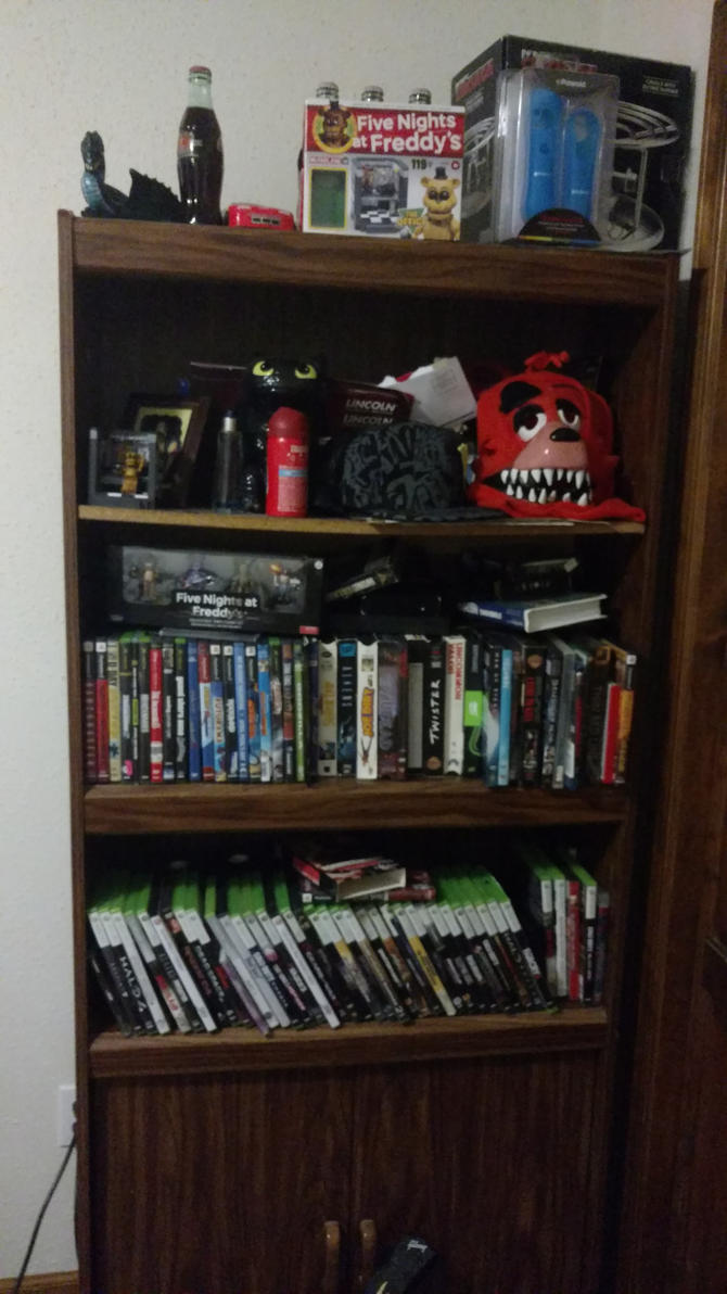My games dvds and collectibles by ghostmember7777