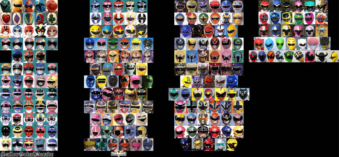 SUPER SENTAI ALL CHARACTERS 3