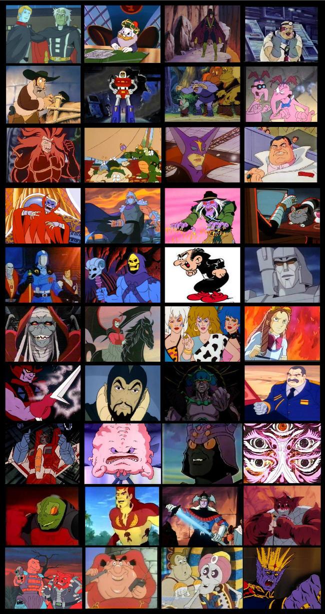 80S CARTOON Villains -13 by park-ji-su