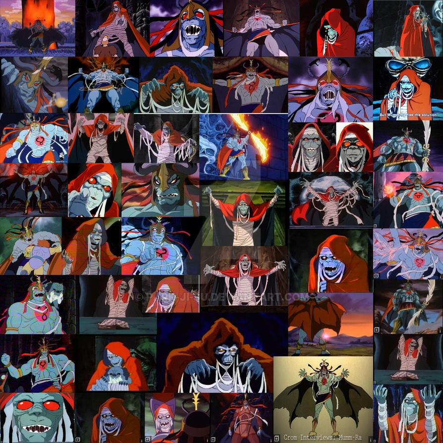 mumm ra 1985 collection by park-ji-su