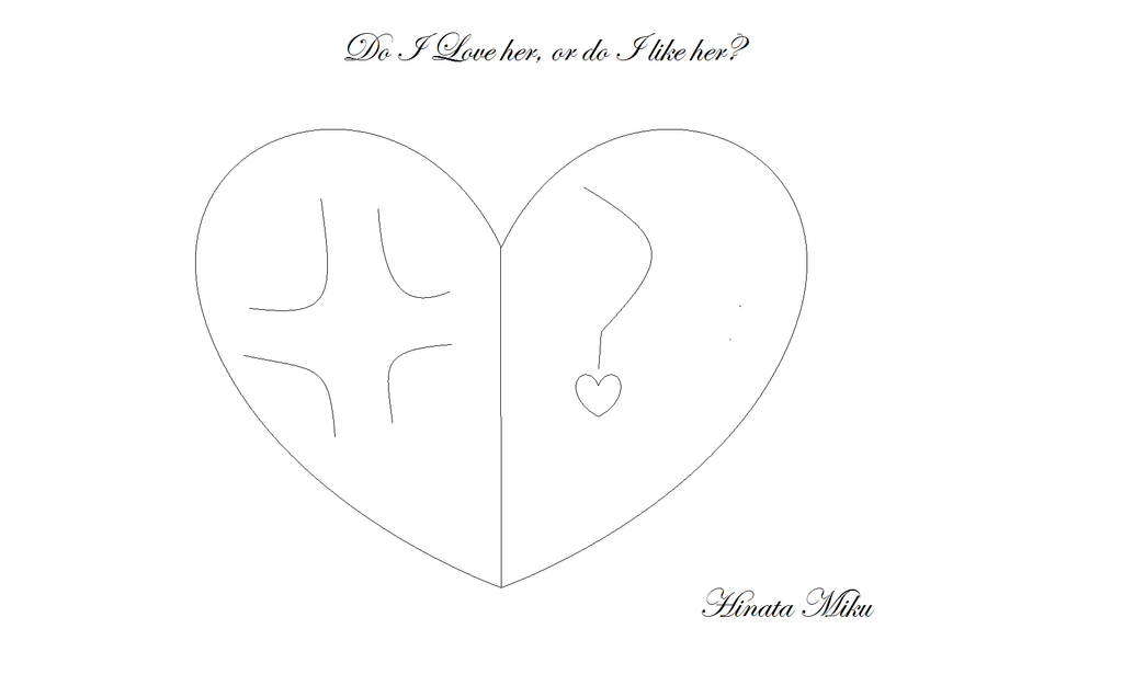 Love or like cover #1 W. I. P. by MikuHinata