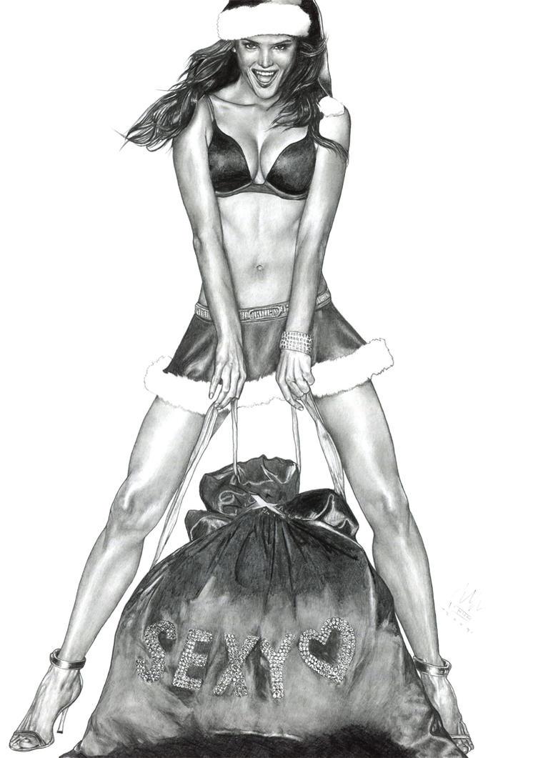 Have a Sexy Christmas by DavidSadler