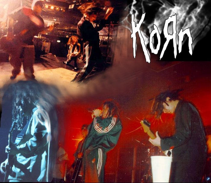 KoRn CD Cover v1 by m4tt5t3r