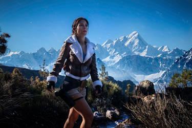 Lara Croft   Tomb Raider   Cosplay by Crofty-model