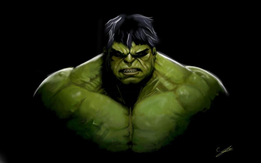 incredible hulk art gallery - photo #11