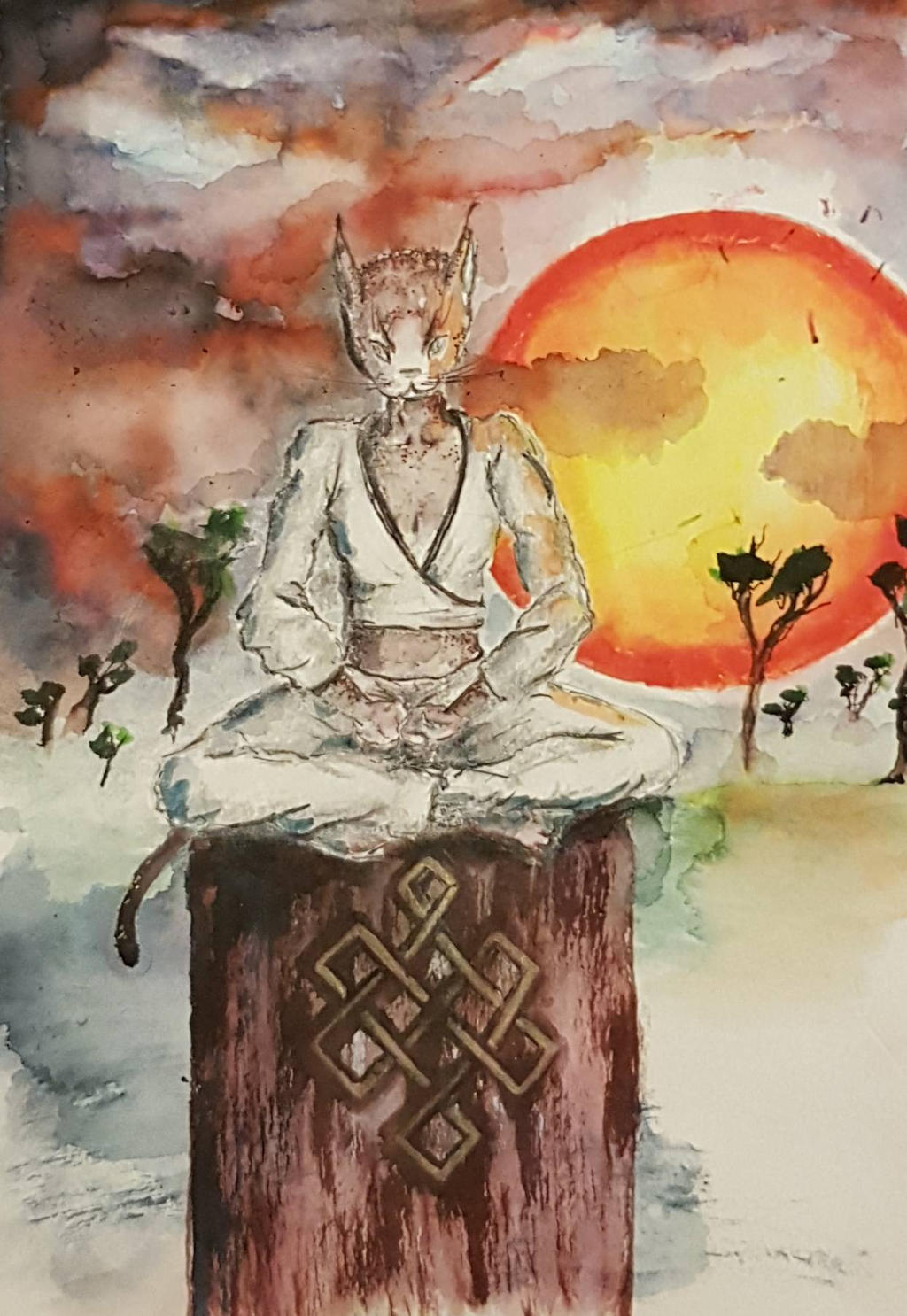Aka Kumo Tabaxi Monk By Lunastaple On Deviantart Way of the astral self monk. deviantart