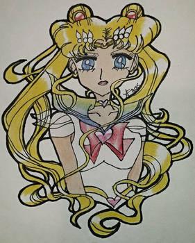 Beautiful Super Sailor Moon!