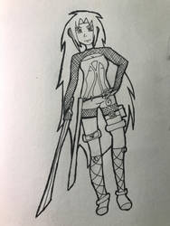 A Naruto OC I decided to try to create.