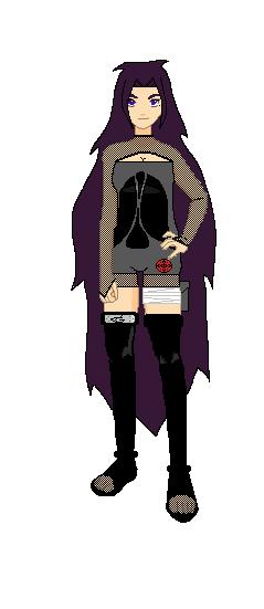 Naruto OC Yuki Kessho by ReikoAnonzuKouji