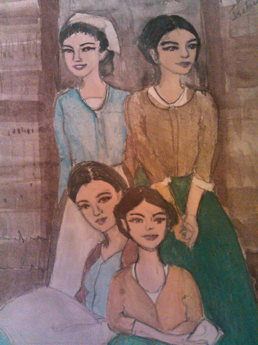the bella sisters with Marie and Isabel Res.Evil 4 by ...