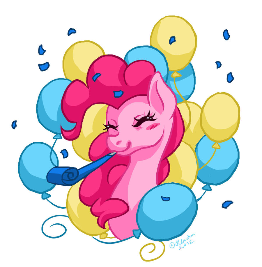 Party Pinkie by Miss-StrayDoll