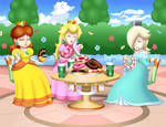 Peach Daisy and Rosalina