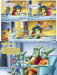 When Living with a Lombax - Page 4 by Sofie-Spangenberg