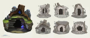 Forest Cavern Concepts