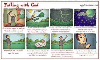 Talking with God by mesale