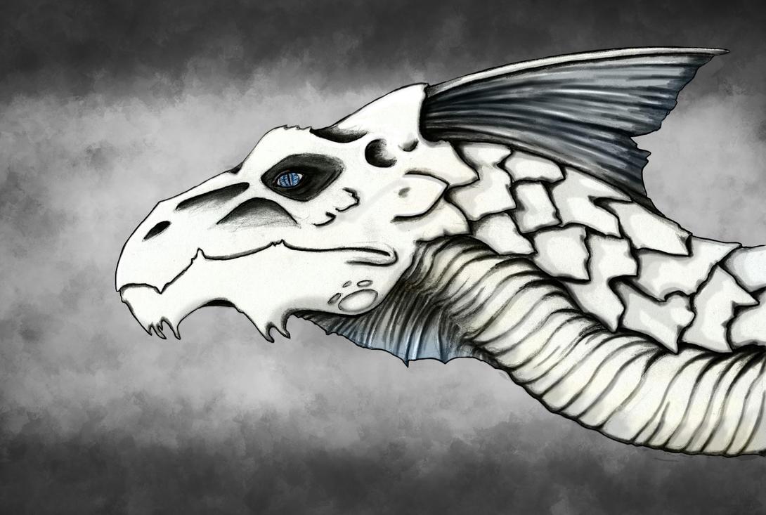 Old White Death by sixlegdragon