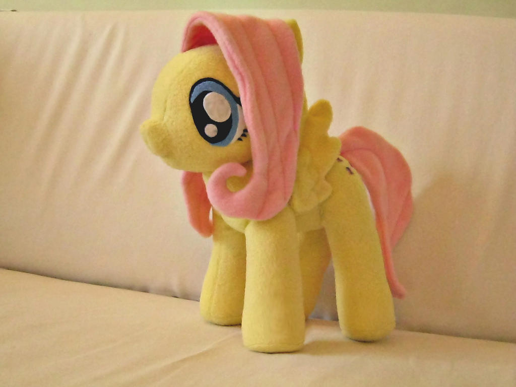 Fluttershy Pony (My Little Pony) by PlushWorkshop