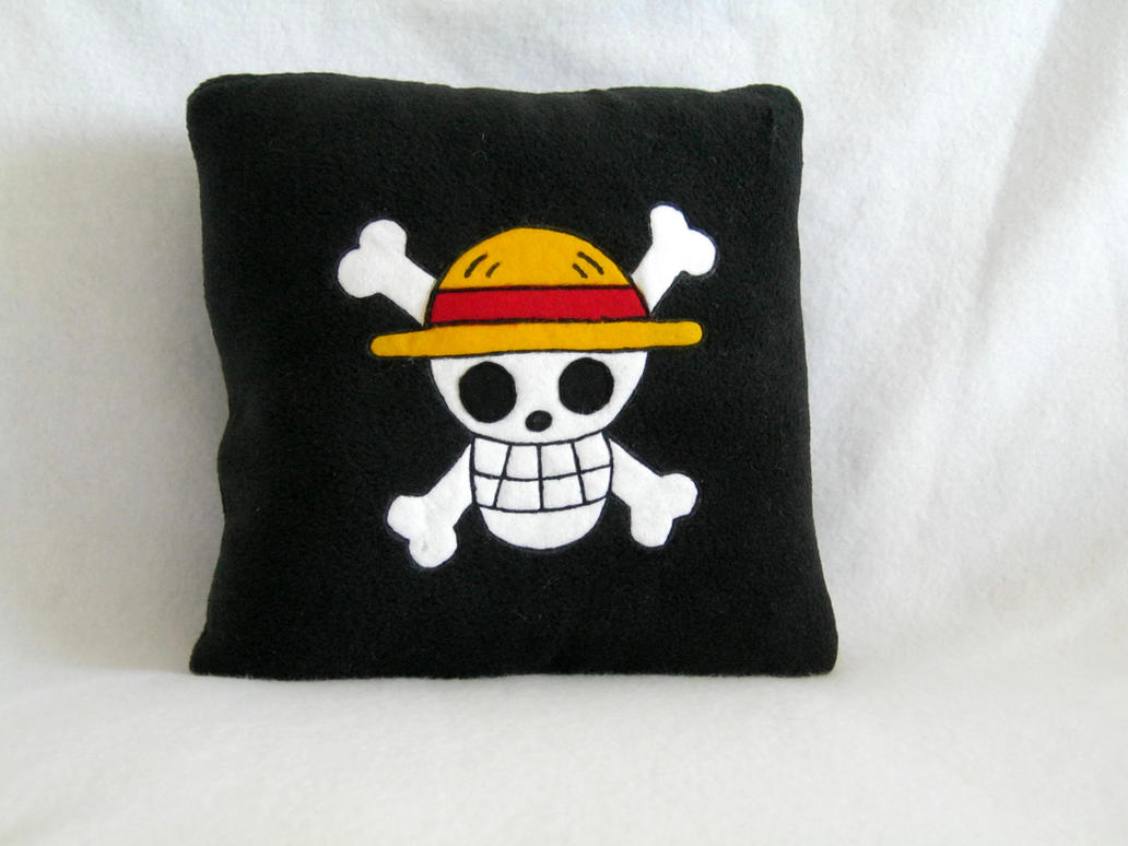 One Piece Pillow by PlushWorkshop
