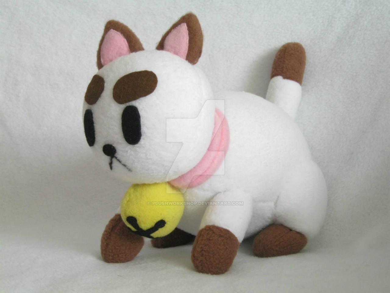 Puppycat Plush by PlushWorkshop