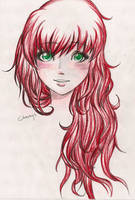 Red Hair by Charbyy