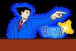 Phoenix Wright by Code-1001