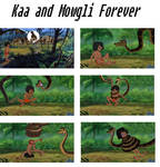 Kaa and Mowgli forever