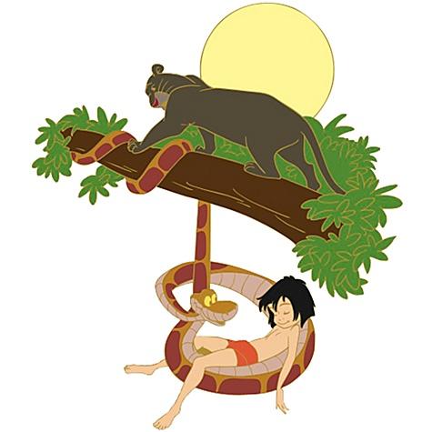 Mowgli kaa bagheera by pasta79