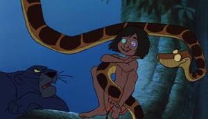 Stop making Mowgli laugh!